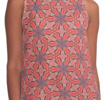 Summer Splash - Coral Contrast Tank
