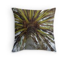 A Palm Tree From Ayr Throw Pillow