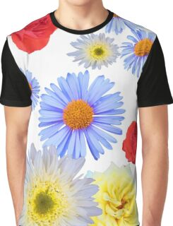 Colorful flowers like living Graphic T-Shirt
