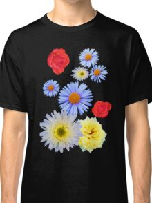 Colorful flowers like living Classic T-Shirt