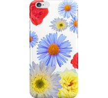 Colorful flowers like living iPhone Case/Skin
