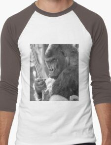 Gorilla Gorilla Gorilla Men's Baseball ¾ T-Shirt