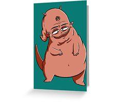 Blub Demon Greeting Card