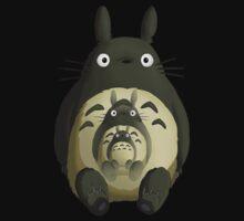 My Neighbor Totoro One Piece - Short Sleeve