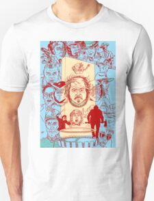 The Many Faces of Kubrick Unisex T-Shirt