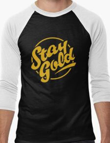 stay gold Men's Baseball ¾ T-Shirt