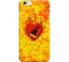 Stannis Baratheon Flames iPhone Case/Skin