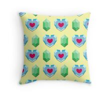 Hearts & Rupees Throw Pillow