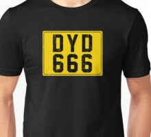 Dylan Dog License Plate Unisex T-Shirt