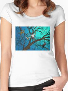 Tree Surgeons Women's Fitted Scoop T-Shirt