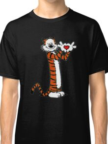 Calvin and Hobbes Love Classic T-Shirt