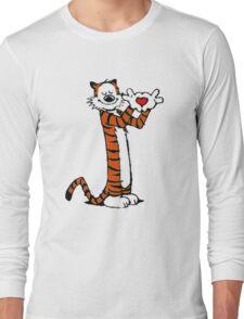 Calvin and Hobbes Love Long Sleeve T-Shirt
