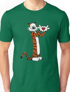 Calvin and Hobbes Love Unisex T-Shirt
