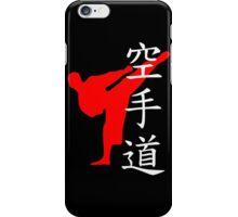 Karate Do Kanji (Red)  iPhone Case/Skin