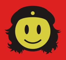 Che Guevara Smiley No.1 One Piece - Long Sleeve