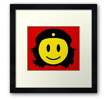 Che Guevara Smiley No.1 Framed Print