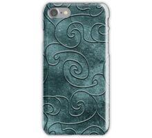 Gray swirls iPhone Case/Skin