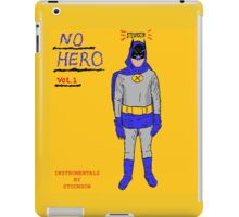 Stounson - No Hero Vol. 1 cover art iPad Case/Skin