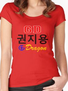 ♥♫Big Bang G-Dragon Cool K-Pop GD Clothes & Stickers♪♥ Women's Fitted Scoop T-Shirt
