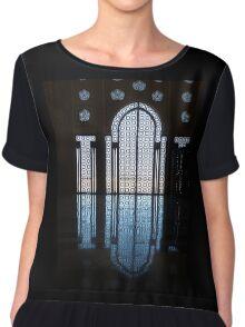 Hassan II Mosque window Chiffon Top