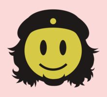 Che Guevara Smiley No.2 One Piece - Long Sleeve