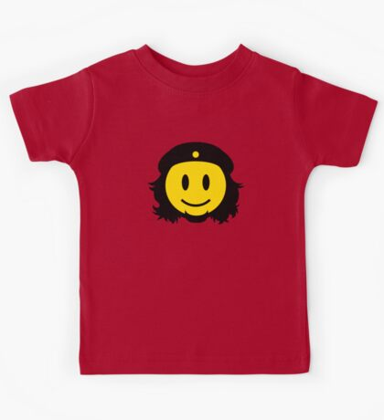 Che Guevara Smiley No.2 Kids Tee