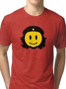 Che Guevara Smiley No.2 Tri-blend T-Shirt