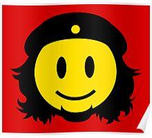 Che Guevara Smiley No.2 Poster