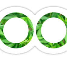 Doob Marijuana Background Sticker