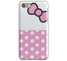 Bow and Dots!  iPhone Case/Skin