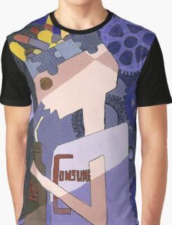 Just Consume by Louella of Lollypop Arts Graphic T-Shirt