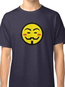 Anonymous Vendetta Smiley Classic T-Shirt