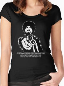 Programming, Motherfucker - Based of Pulp Fiction Women's Fitted Scoop T-Shirt