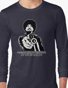 Programming, Motherfucker - Based of Pulp Fiction Long Sleeve T-Shirt