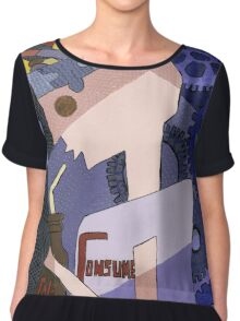 Just Consume by Louella of Lollypop Arts Chiffon Top