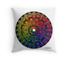 Mandala 46 Throw Pillow by Mandala Jim Throw Pillow