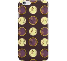 Autumn Berries and Conkers - Small Dots iPhone Case/Skin