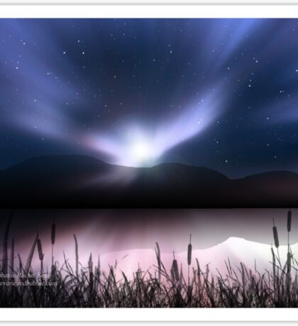 Dawn Dreamscape Sticker