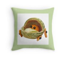 The Veggies - Sweet Baby James Throw Pillow