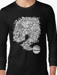 Doodlemon Long Sleeve T-Shirt