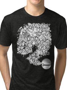 Doodlemon Tri-blend T-Shirt