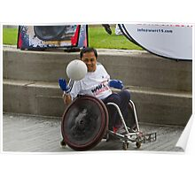 London Mayor joins international stars to officially launch World Wheelchair Rugby Challenge Poster