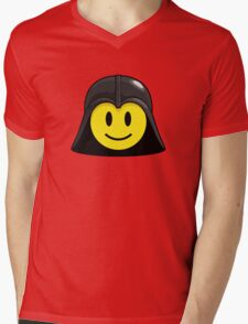Darth Smiley (only) Mens V-Neck T-Shirt