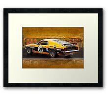 John Bowe Mustang 2 Framed Print