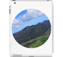 Aerial Photo Mountains Scenic Countryside iPad Case/Skin