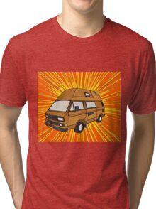 T25 Sunburst cartoon Tri-blend T-Shirt