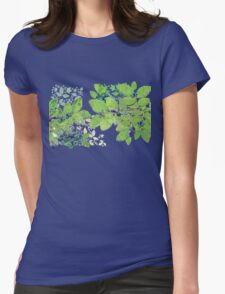 Blueberries from Nova Scotia Womens Fitted T-Shirt