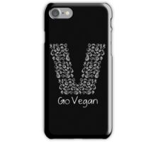 Go Vegan For Healthy Lifestyle Best Gift For Men And Women iPhone Case/Skin