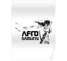 Afro Samuari Poster