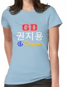♥♫Big Bang G-Dragon Cool K-Pop GD Clothes & Stickers♪♥ Womens Fitted T-Shirt